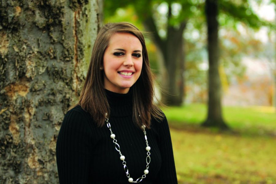 Tori Peden was awarded the Edward Fennel Mauldin Scholarship, the largest endowed scholarship in UNA's history.
