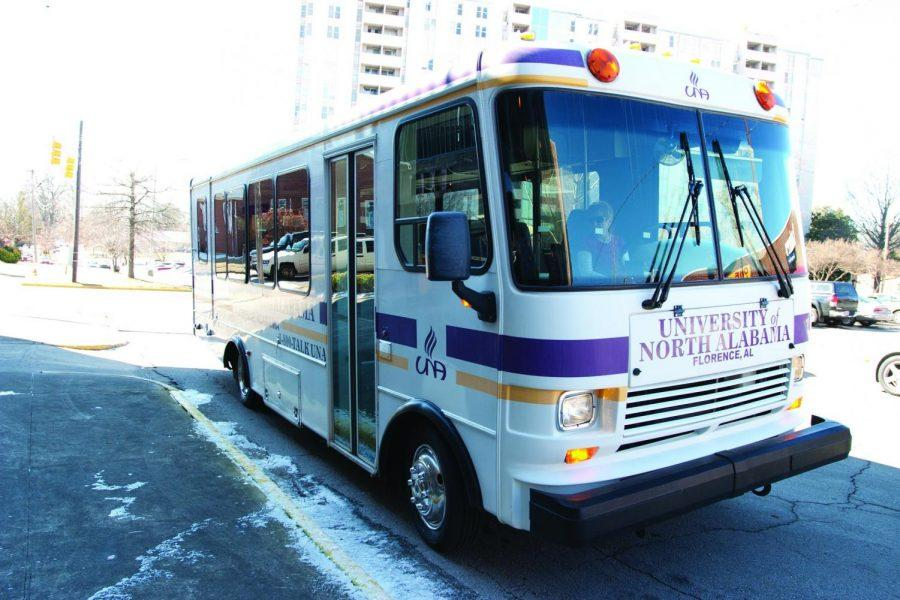 ice President of Student Affairs David Shields confirmed this week that UNA will begin routing buses to apartment complexes within a close radius of the campus. If students take advantage of the ride, it will cut down on gas and save parking spaces.