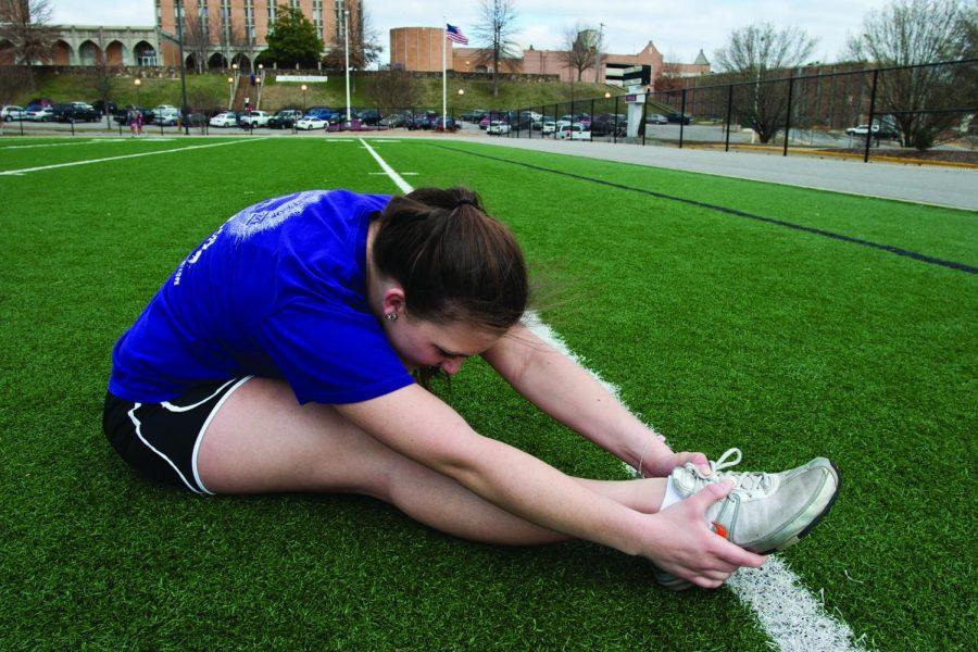 Research shows stretching before a run isn't as necessary as people believe it to be. However, UNA runners insist it reduces their risk of injury.