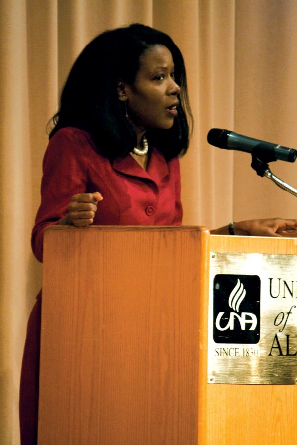 Isabel Wilkerson speaks at UNA April 14.