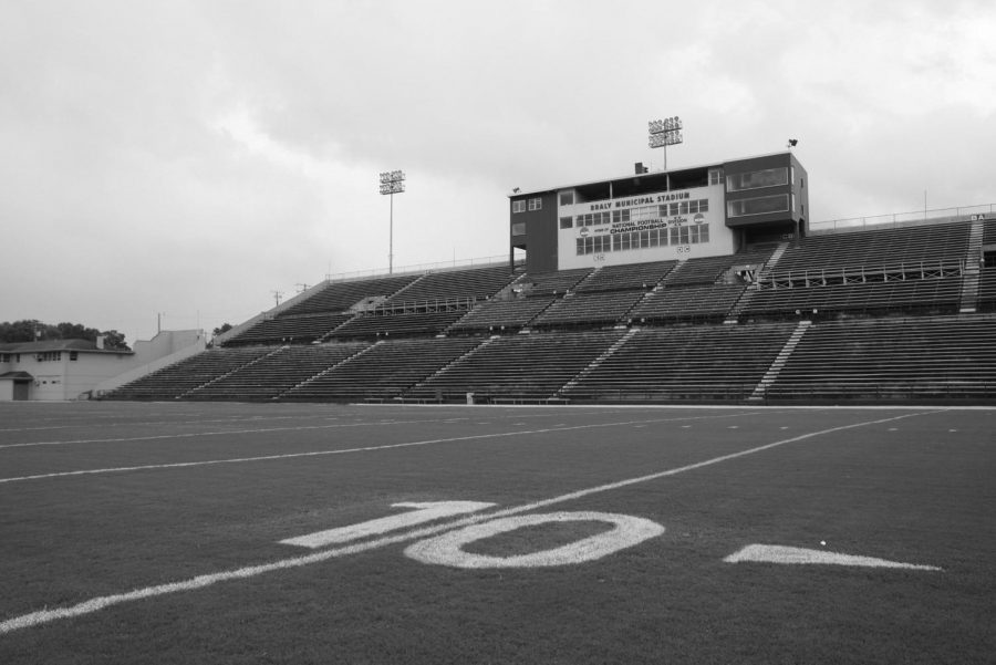 Braly Stadium has been home to the UNA football team for 59 seasons with crowds filling the stands to make it as rowdy as possible.