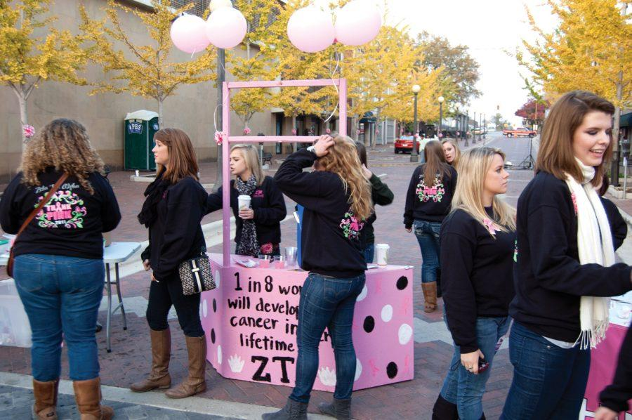 Sisters+of+Zeta+Tau+Alpha+host+the+Pink+Party+in+Mobile+Plaza.%0AZTA+hosted+the+event+in+conjunction+with+the+UNA-themed+November%0AFirst+Friday.+The+sorority+gave+out+pink+lemonade+and+other+items%0Ato+people+at+the+event.%0A