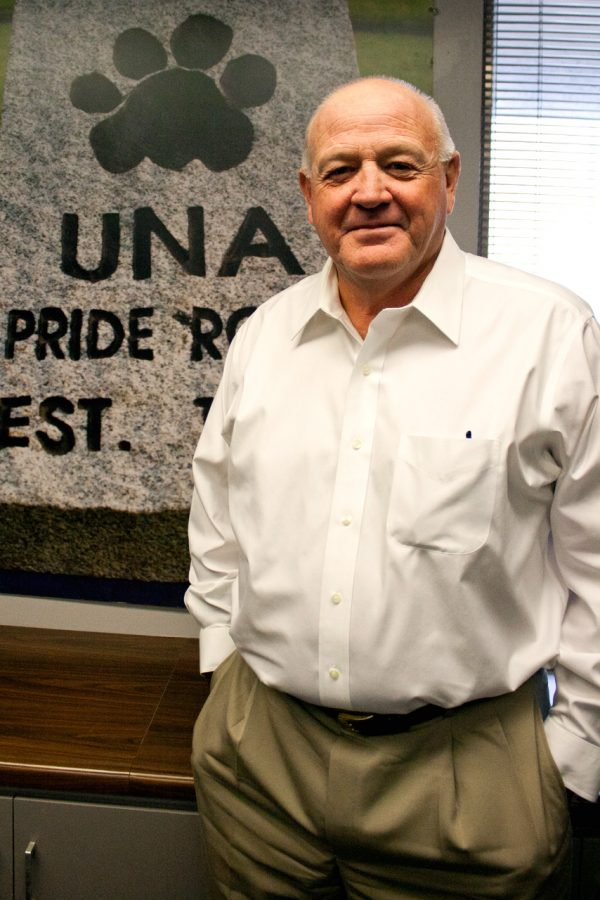Bobby Wallace, who returned to UNA last week as the new head football coach, worked as head coach at UNA from 1988-1997 and won three straight national championships during that time.