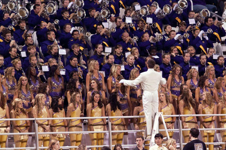 UNA%E2%80%99s+Pride+of+Dixie+band+plays+during+the+homecoming+game+last%0Afall.+Due+to+scheduling+problems%2C+homecoming+games+will+be%0Adifferent+every+year.%0A