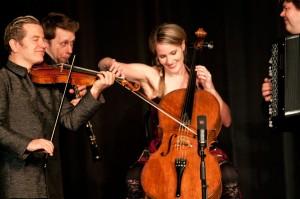 Quartetto+Gelato+performs+variety+of+music+at+Shoals+Theatre