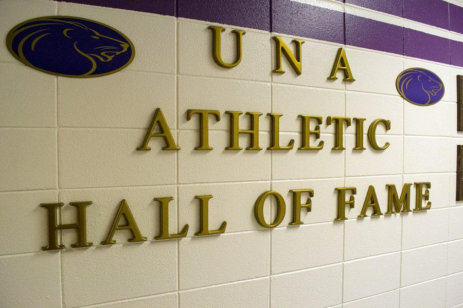 The+UNA+Athletic+Hall+of+Fame%2C+housed+in+Flowers+Hall%2C+will+add+six+members+to+its+rich+heritage+Sept.+29+at+9+a.m.%0A
