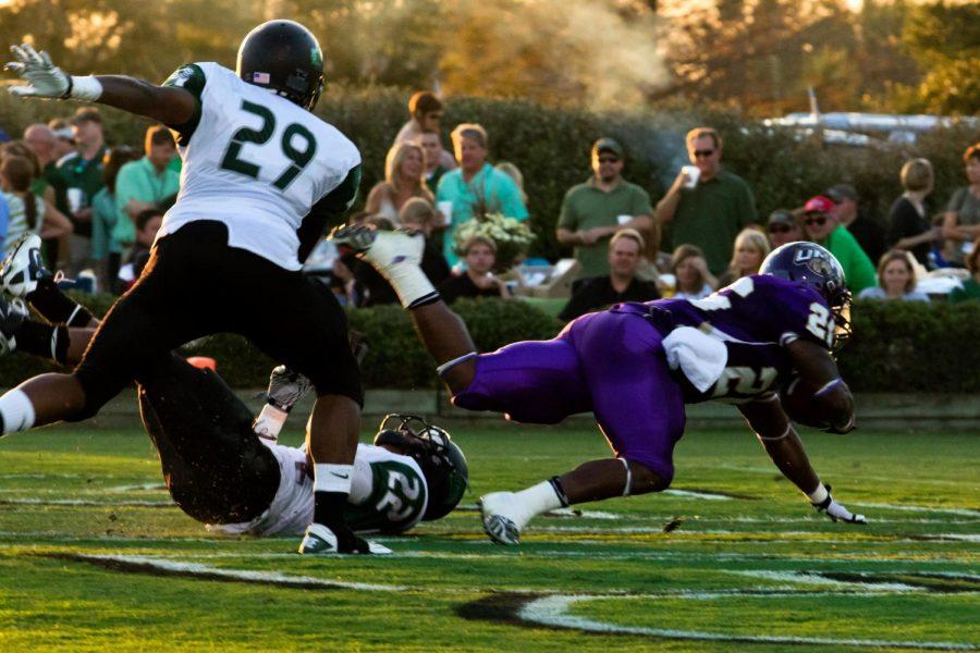 The UNA Lions defeated Delta State University with a score of 20-12 on Sept. 22.