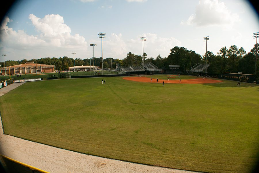 With+the+donation+from+the+Stephenson+family%2C+the+press+box+will+be+completely+redone+and+64+new+seats+will+be+added+behind+home+plate%2C+said+UNA+head+baseball+coach+Mike+Keehn.%0A