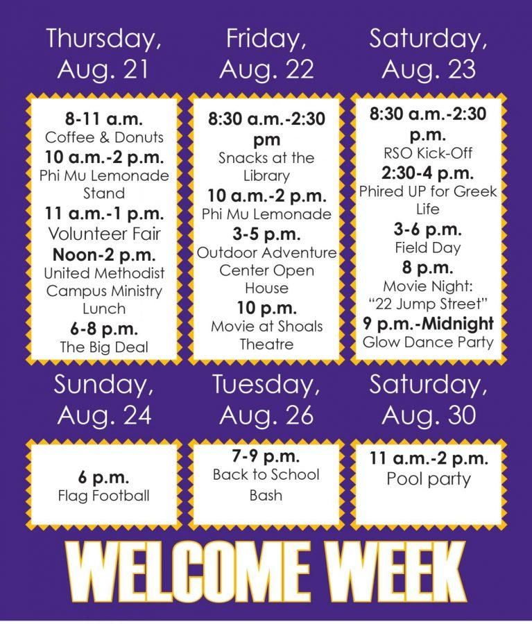 Welcome Week introduces students to RSOs