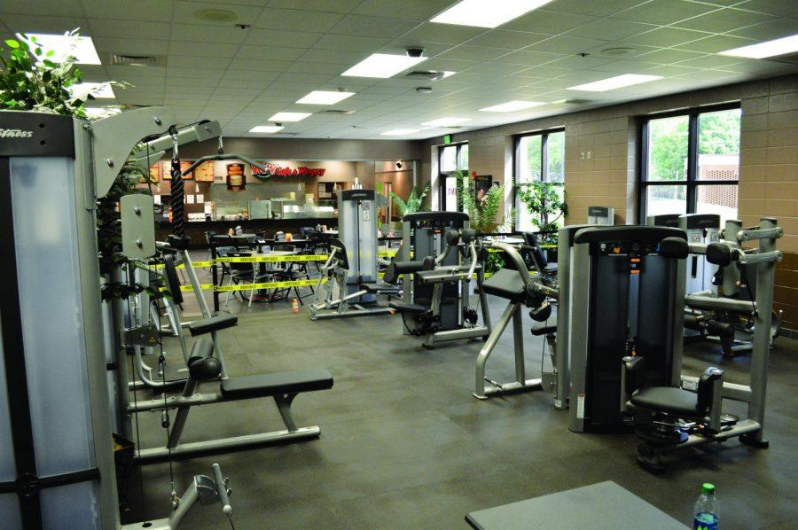 The fitness center has moved from the second floor to the first floor of the SRC, creating more space for students to workout. The SRC also replaced the old work out equipment with brand new equipment.