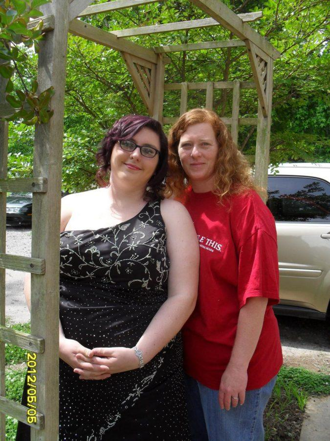 Student+Ashley+Southard+and+her+mother%2C+Missy%2C+pose+for+a+picture+before+Ashley%E2%80%99s+senior+prom.+Their+family+found+out+about+the+cancer+diagnosis+a+few+days+after+the+photo+was+taken.