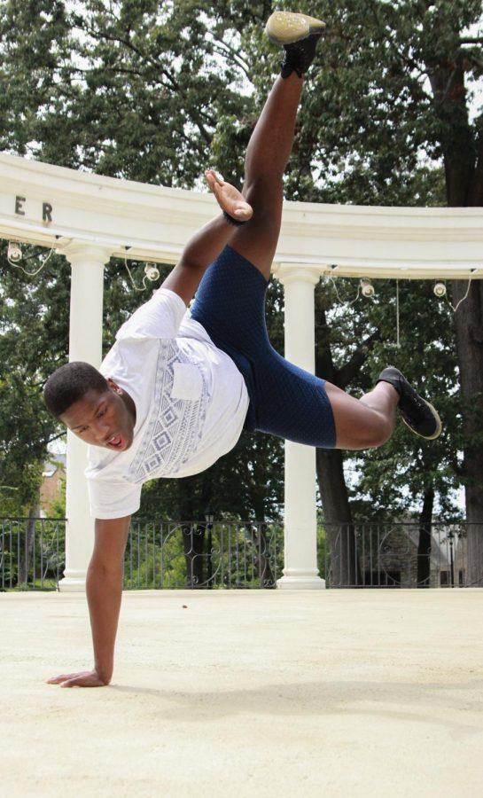 LaDarius Prince, self-taught dancer and choreographer, begins and ends each day with dance.