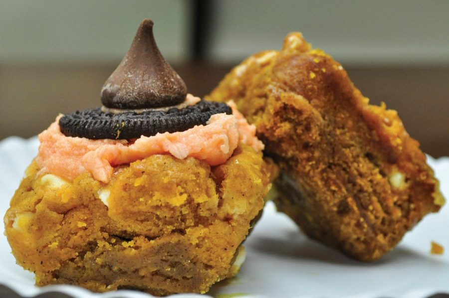 """Slutty Witches"" are the Halloween version of the chocolate dessert ""Slutty brownies."" Both brownies include cookie dough, Oreos and brownie batter and are sure to satisfy anyone's sweet tooth."