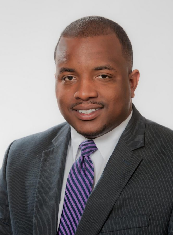 "Marcus Maples is the only African-American on UNA's board of trustees. ""Diversity issues play a particular role in what I'm involved in and interested in,"" Maples said."