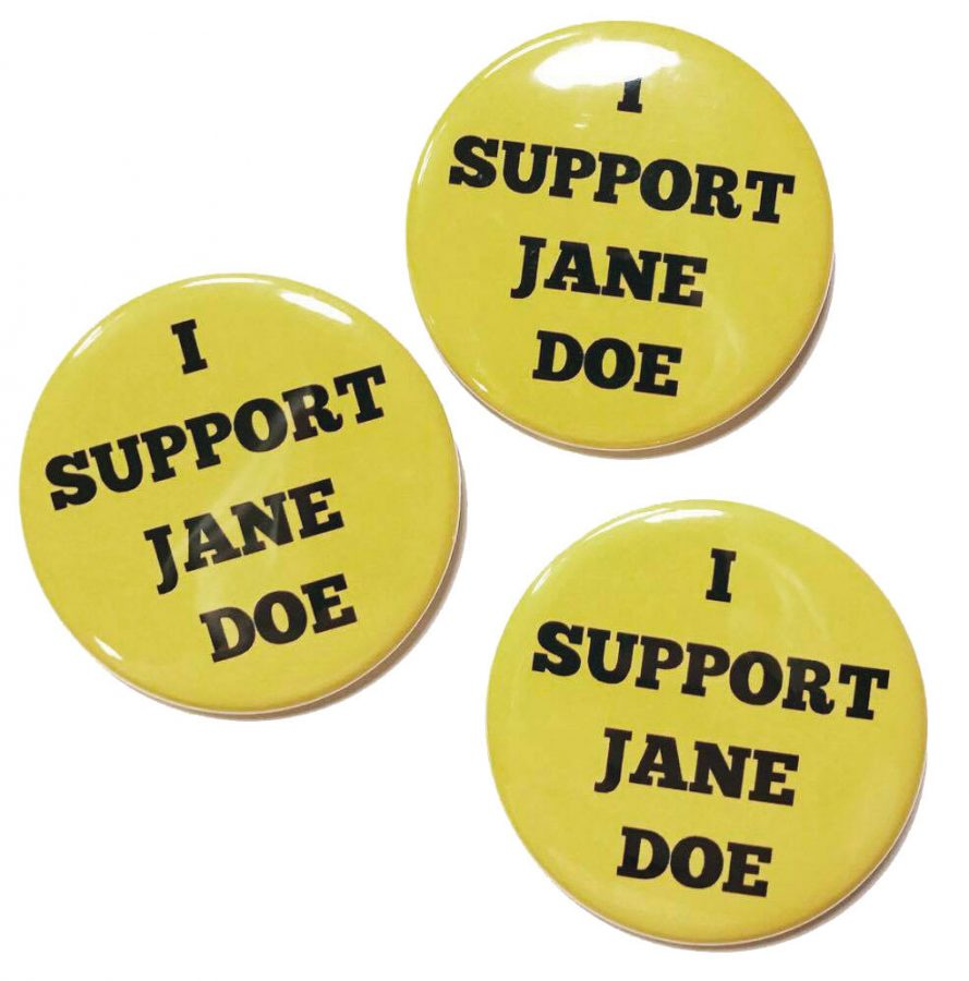 Protest to show support for Jane Doe