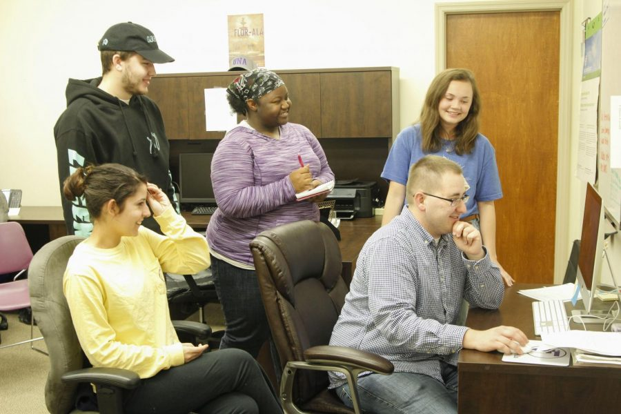 The Flor-Ala staff works every week to provide the UNA campus news, sports and life articles. Just like everyone else on campus, each member has a personal secret to share.