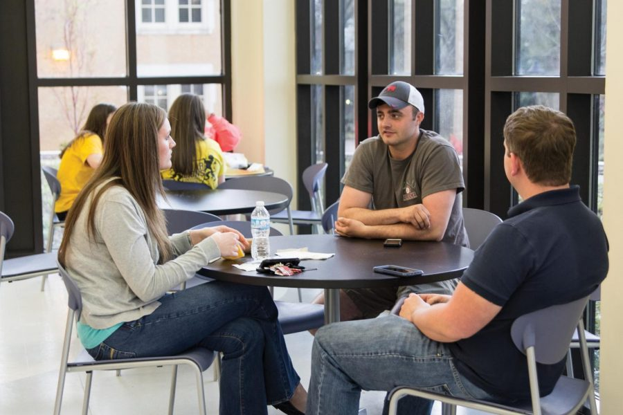 The Commons Building is a well-used area on campus for students to get food and hang out with friends. In 2018, university officials will re-name the building after Wendall Wilkie Gunn, the first African-American student to attend UNA.