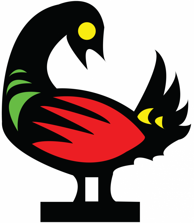 The frequently used symbol of Sankofa, which some translate as