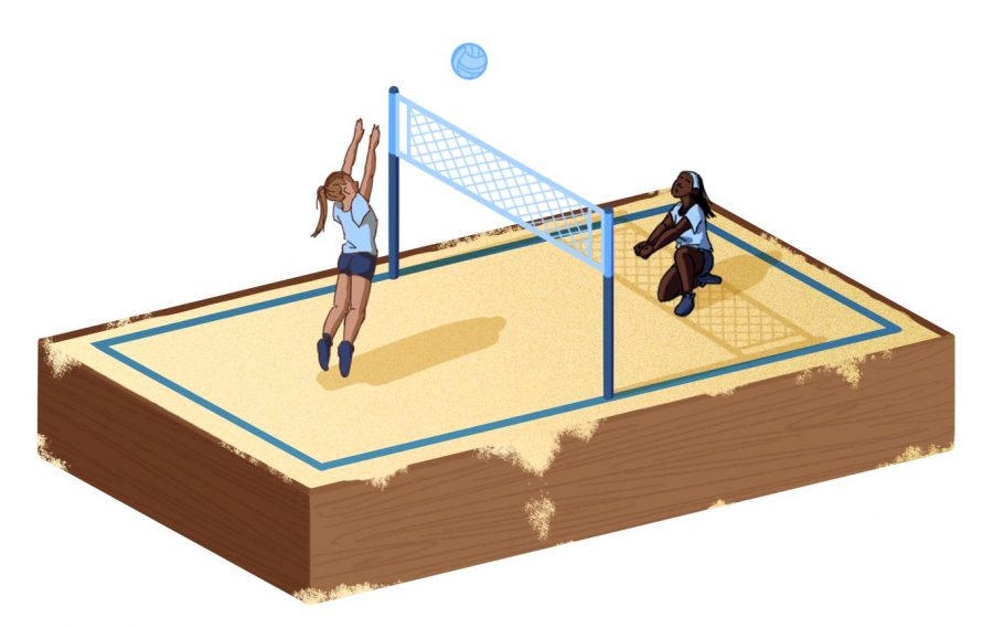 Off+the+court+and+into+the+sand%2C+beach+volleyball+arrives
