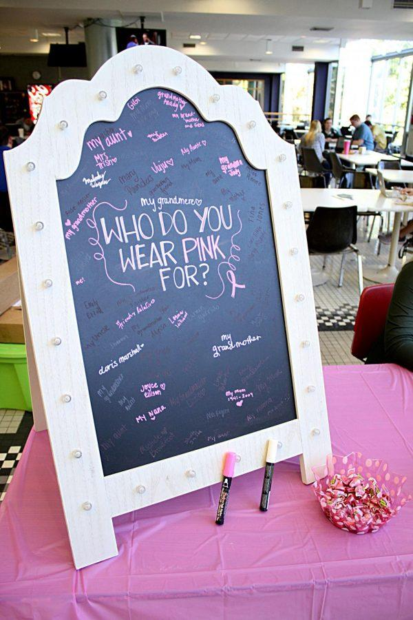 Campus+organizations+host+breast+cancer+awareness+events