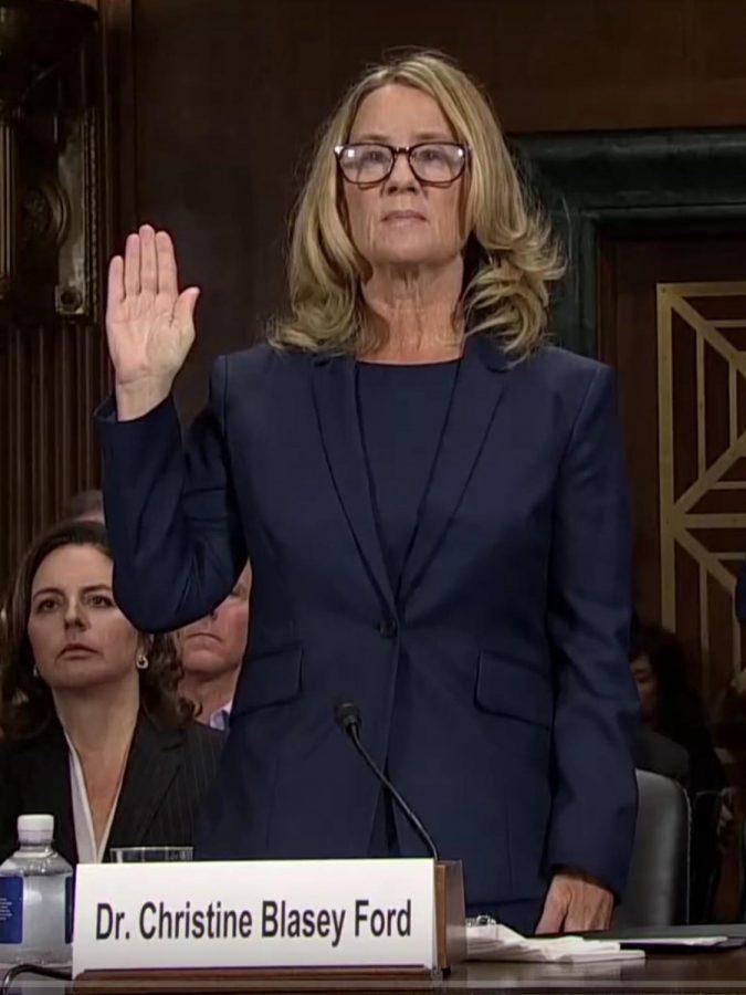 Ford%2C+Kavanaugh+give+testimonies+to+senate+committee
