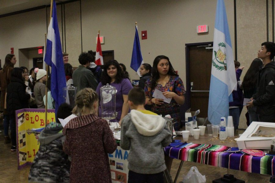 International students recognized at Passport to the World