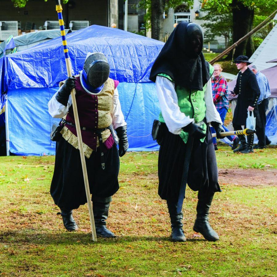 The+33rd+Alabama+Renaissance+Faire+took+place+Oct.+26-27+in+Wilson+Park.+People+from+all+over+attended%2C+dressed+for+the+medieval+time+period.