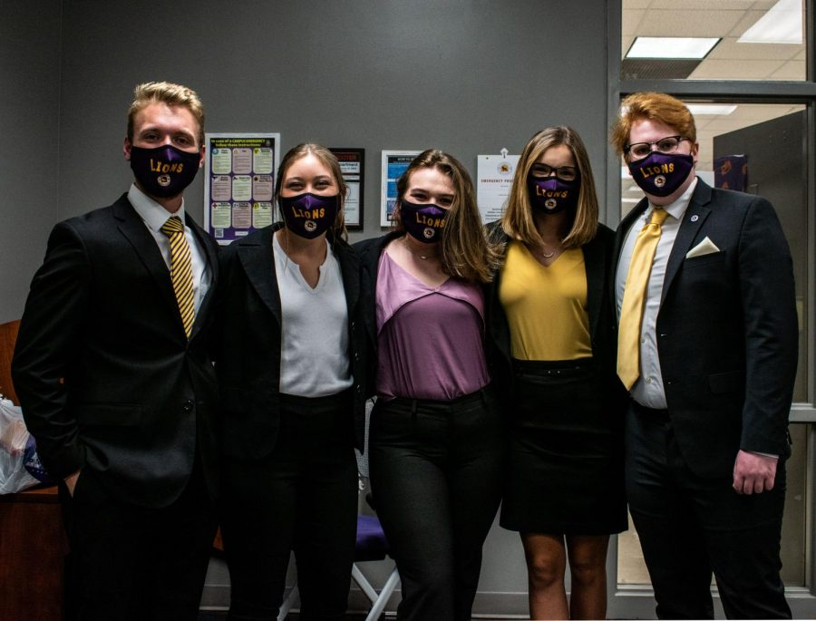 The University of North Alabama's Student Government Association (SGA) holds meetings every Thursday on Zoom at 3:30 p.m. These meetings are open to the public. Students can attend them by reaching out to a senator for the Zoom link.