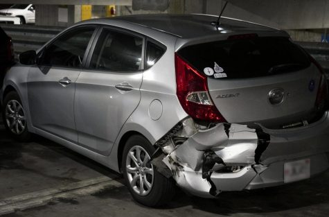 A total of four vehicles were damaged in the parking garage on the night of Sept. 17. UNA P.D. were called in by a group of students and were met with  the damage. No students were harmed and the driver was referred to Student Conduct.