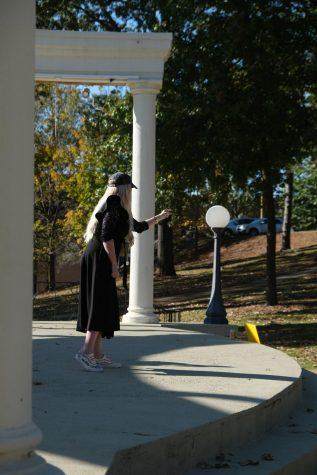 Stranger harasses students