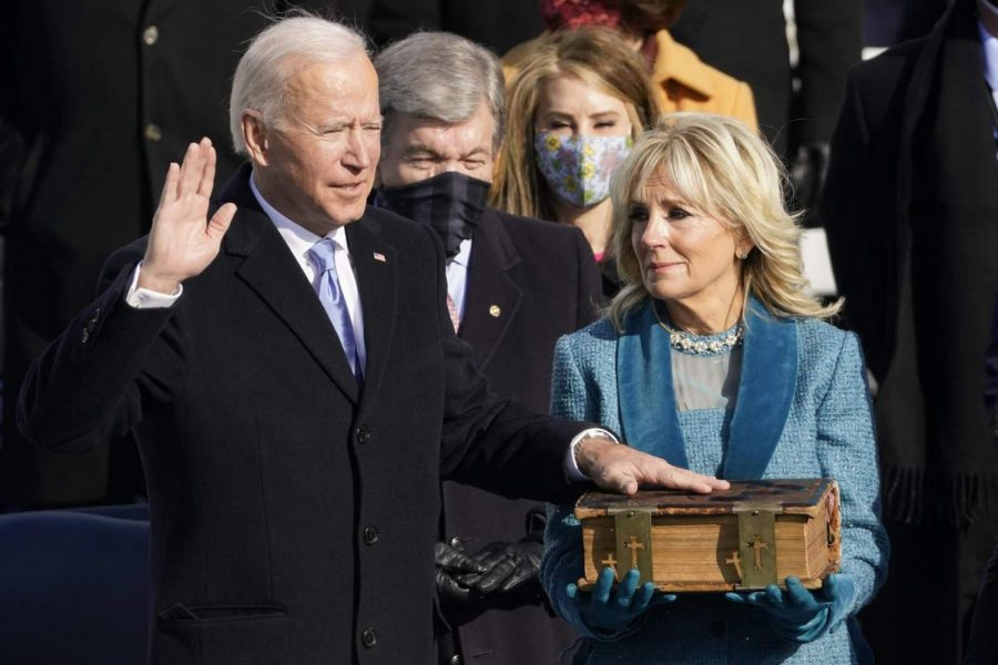 Joe Biden inaugurated as the 46th president of the U.S.
