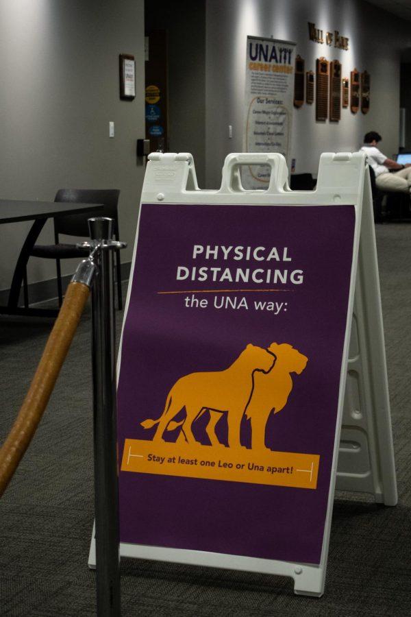 UNA continues to provide COVID testing