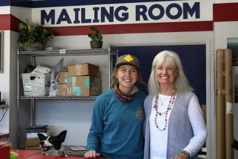 Pam Clepper, Shoals Woman of the Year, works at the Mailing Room. In addition to this, Clepper also works on projects for FAME Girls' Ranch with Director Cindy Hall.