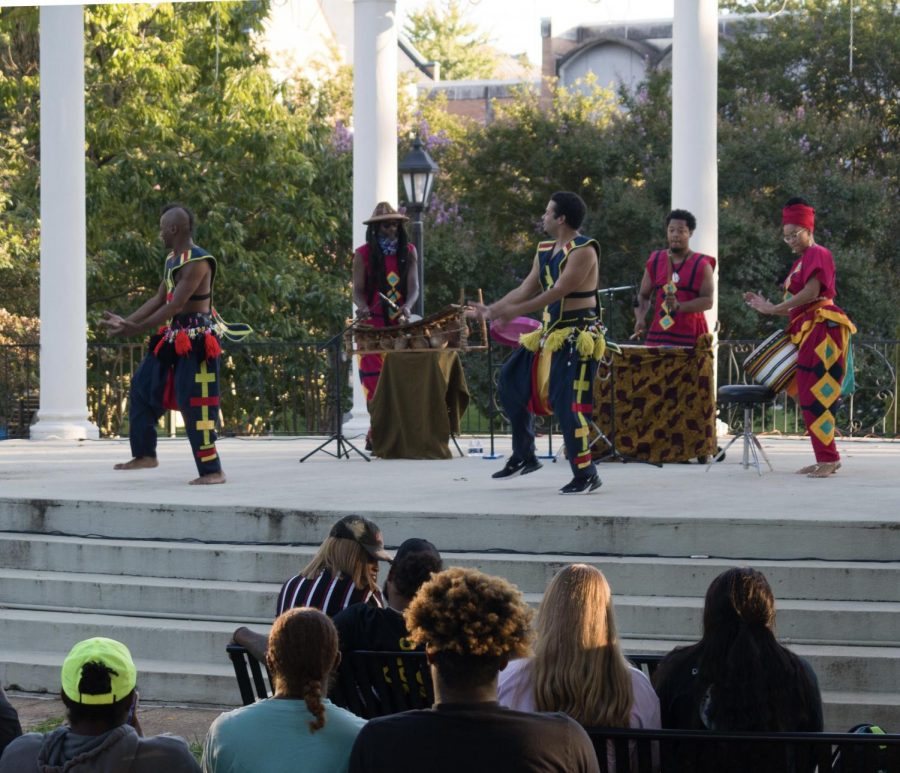 UNA hosts the 2021 Culture Fest at the heart of Main Campus, The Memorial Ampithertre, on Septmeber 23.