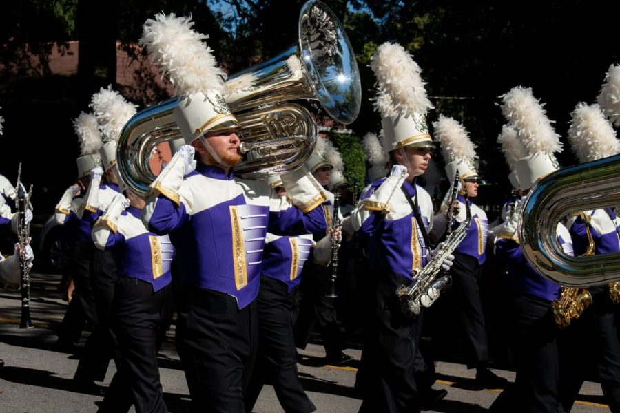 Leading the Marching Pride