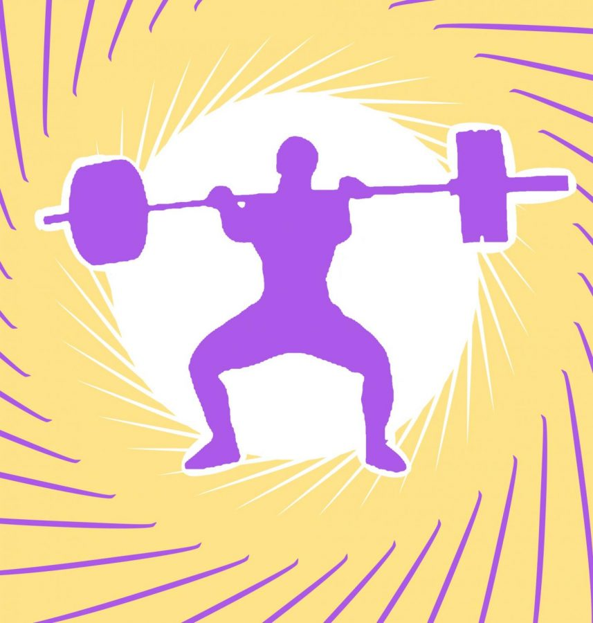 Weight-lifting coach
